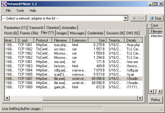 pcap file format