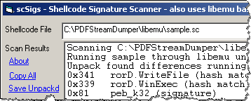 Analyzing Suspicious PDF Files With PDF Stream Dumper