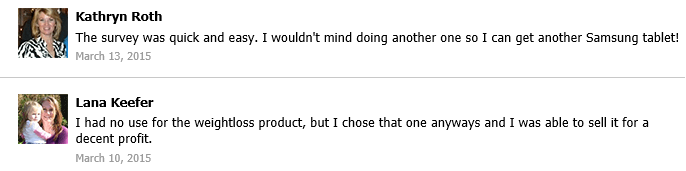 Fake Customer Testimonials