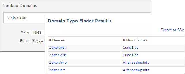 domain-typo-finder