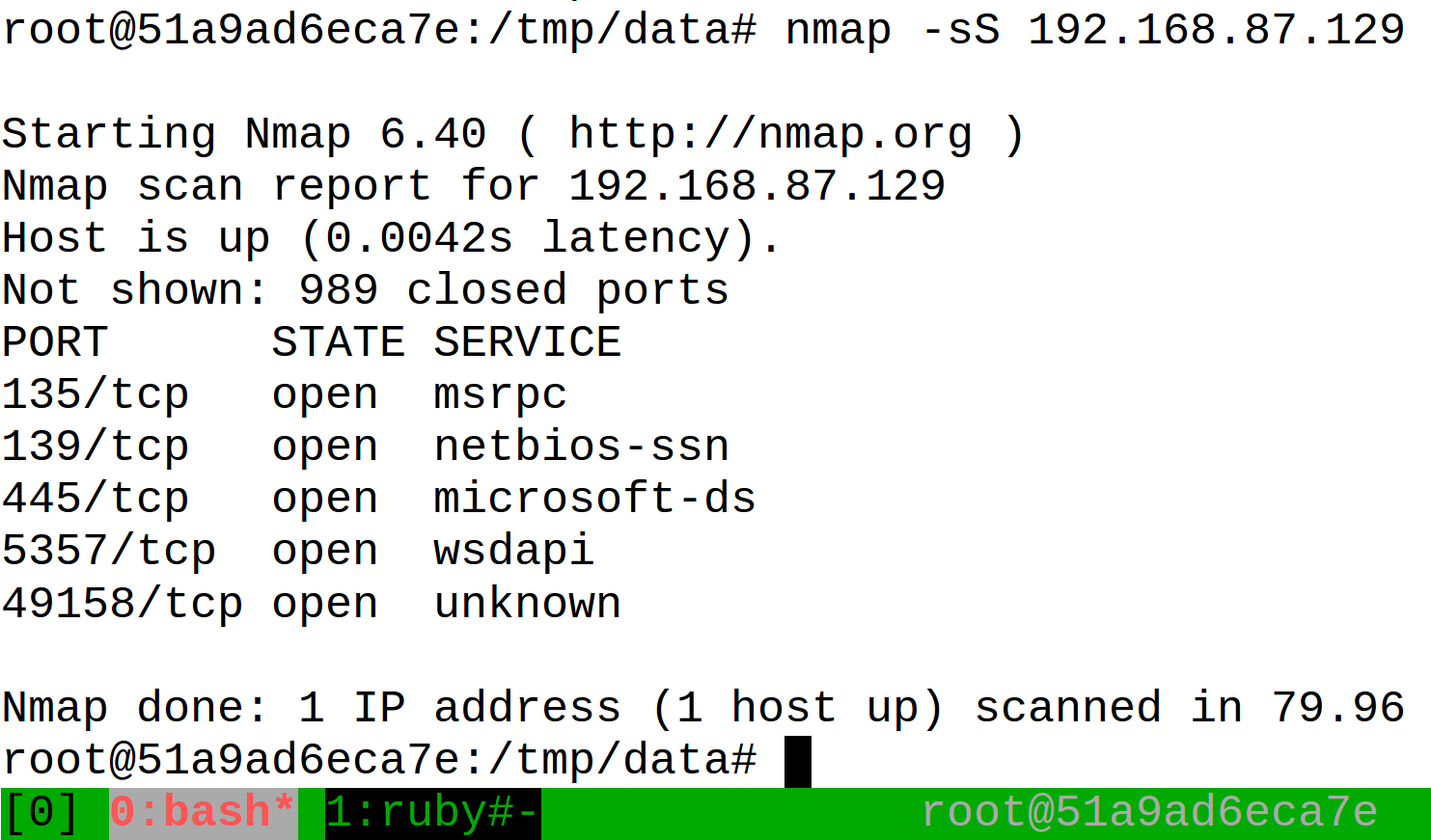 Run Metasploit Framework as a Docker Container Without