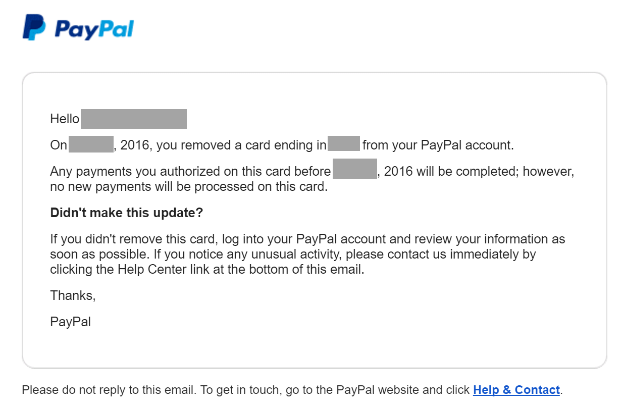 How to make an email account no phone number - Authenticated Sender Paypal And Chase